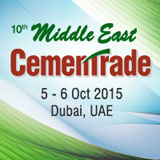 10th Middle East CemenTrade, 05-06 Oct, 2015, Dubai