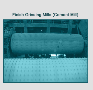Finish Grinding Mills (Cement Mill)